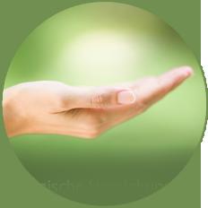 Der ganze Körper in Ihrer Hand